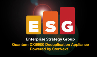 Enterprise Strategy Group DXi6900 Lab Validation Report
