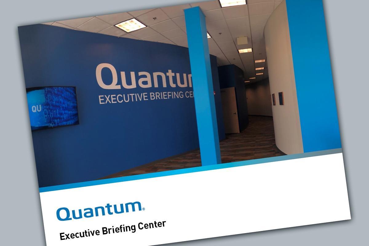Quantum Executive Briefing Center Brochure