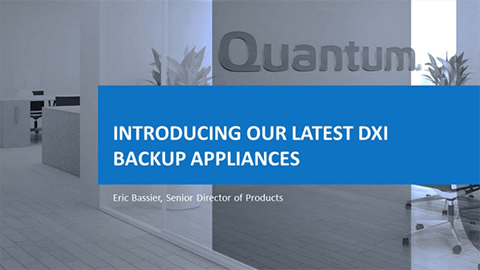 DXi Backup Appliances