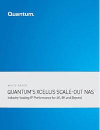 Quantum's Xcellis Scale-out NAS