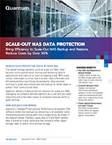 Scale-out NAS Data Protection