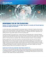 Redefining TCO for the Cloud