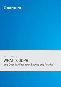 What is GDPR and Does it Affect Your Backup & Archive?