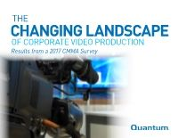 The Changing Landscape of Corporate Video Production E-Book