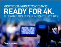 Is your infrastructure ready for 4k video production
