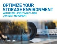 Optimize Your Storage Environment with Intelligent Multi-Tier Content Movement