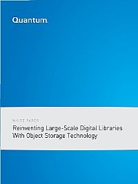 Reinventing Large-Scale Digital Libraries with Object Storage Technology