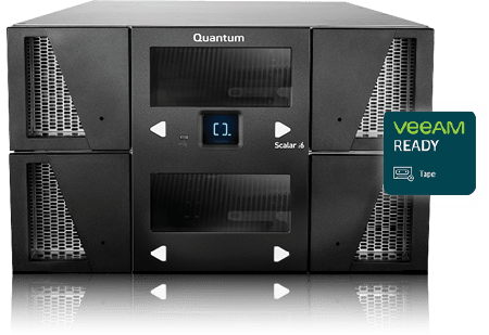 Quantum Scalar Veeam Ready Tape for Offline Protection